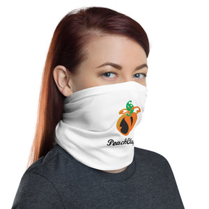 PeachClay Logo Neck Gaiter/ Face Mask