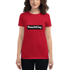 PeachClay Tee - Ladies short sleeve fitted t-shirt