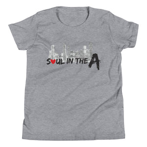 Soul in the A Youth Short Sleeve T-Shirt - Choose White or Grey