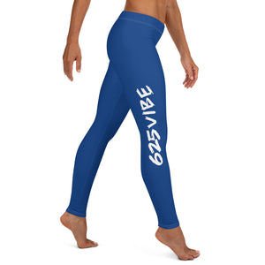 625Vibe Leggings - Royal Blue