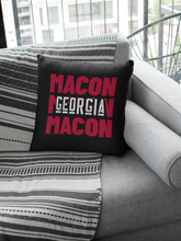 Load image into Gallery viewer, Macon, GA Premium Pillow