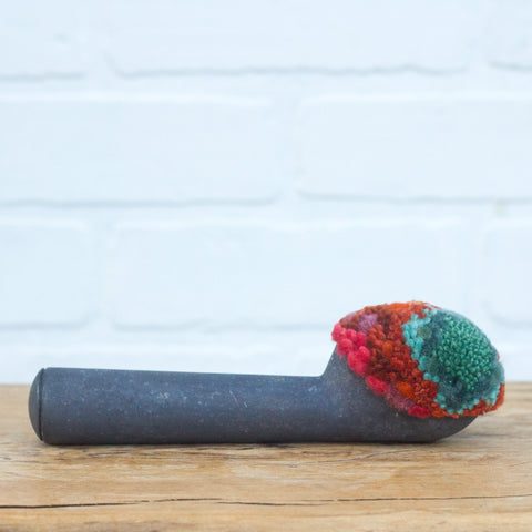 Vintage Chunky Handle Ice Cream Scoop | Green + Orange