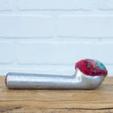 Vintage Chunky Handle Ice Cream Scoop | Rainbow with Red Bottom