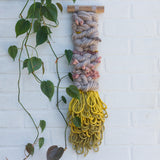 Long + Skinny Textured Woven Wall Hanging
