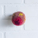 Mini Puff | Pinks and Chartreuse