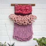 CLOUD 10 COLLECTION: All Pink Cloud | Woven Wall Hanging