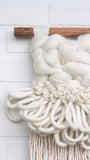CLOUD 10 COLLECTION: All White Cloud | Woven Wall Hanging