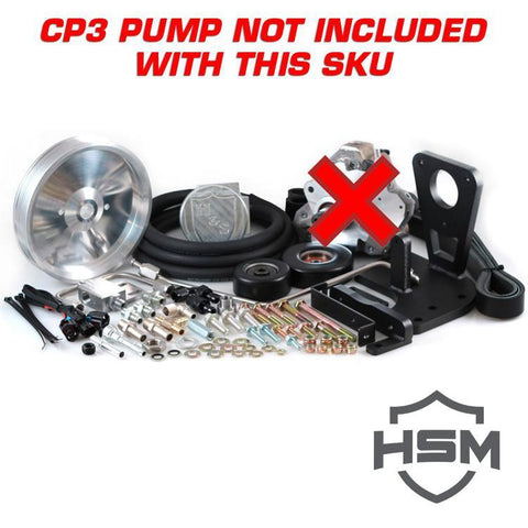 11-16 GM 6.6L Dual High Pressure Fuel Kit W/O CP3