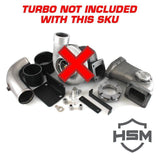 08-10 Ford 6.4L Single Turbo Kit W/O Turbo (Undivided)