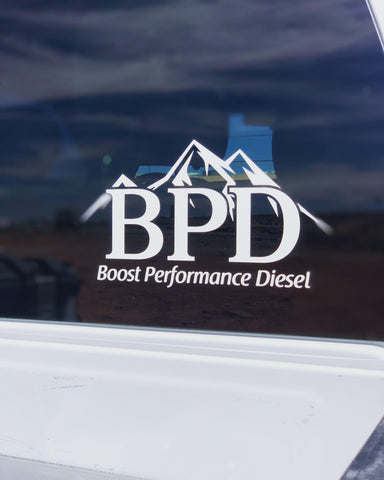"5.5"" X 10"" BPD Window Sticker"