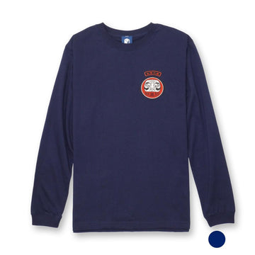 七転八起 Patch Long-sleeve TEE