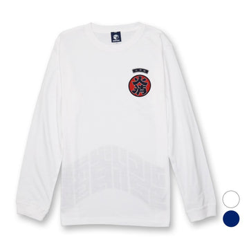 [30%OFF]火消魂ワッペンロンTEE