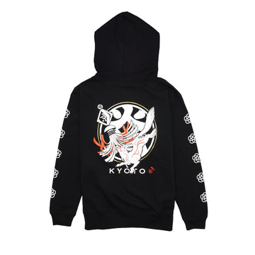 Kyoto White Fox HOODIE [order order product: about 3 weeks until shipment]