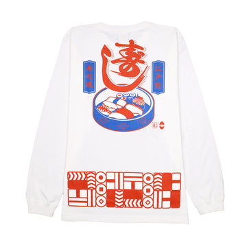 Fire extinguishing sushi L / S TEE [It may take 2 to 3 weeks to ship]