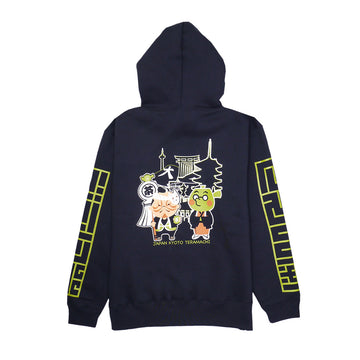 HIKESHI SPIRIT x Goencha Pullover Hoody[order order product: about 3 weeks to dispatch]