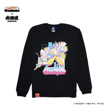 Promare x HIKESHI SPIRIT GALO SWEAT SHIRT [It may take 3-4 weeks to ship]