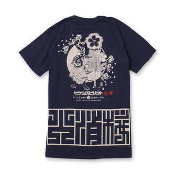 HIKESHI SAKURA Matoi Japan Made TEE