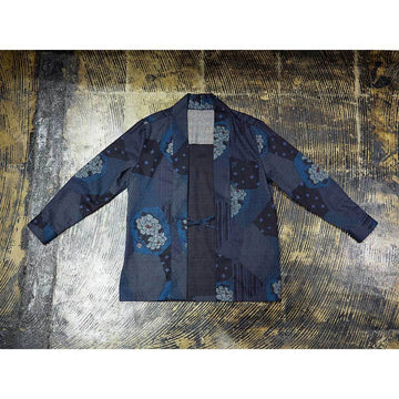 Yose Pattern Han-ten Shirt