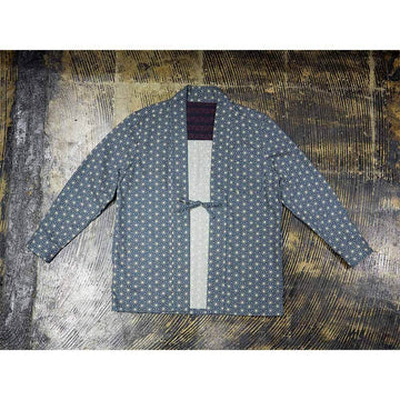 Han-ten Shirt (Asanoha Pattern)