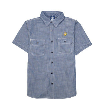 Hikeshi Shishi Clan CHAMBRAY SHIRT [The order of the order items: 3 to 4 weeks to ship]
