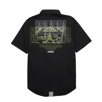 HMT DANGER WORKSHIRT S/S [It may take 3 to 4 weeks to ship]