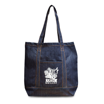 Habashi Iidaya Denim Tote Bag [It may take 2 to 3 weeks to ship]