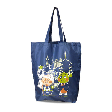 HIKESHI SPIRIT x Goencha eco bag