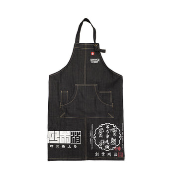 HIKESHI SPIRIT x Tori-ichi Long-established APRON[订单订购商品:发货前3周左右]