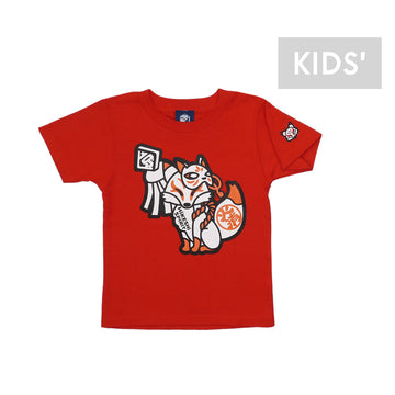 KYO WHITE FOX TEE [Kids]  [It may take 3 to 4 weeks to ship]