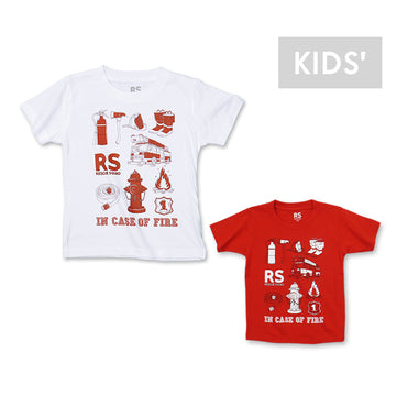 RS by FIRE TOOL Tシャツ KIDS [RS by][アウトレット]