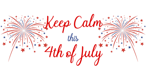 Keep Calm on July 4th