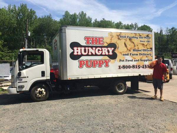 The Hungry Puppy Delivery Truck