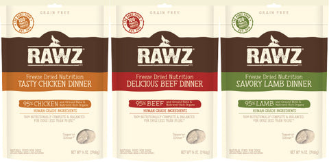 RAWZ Freeze Dried Bags