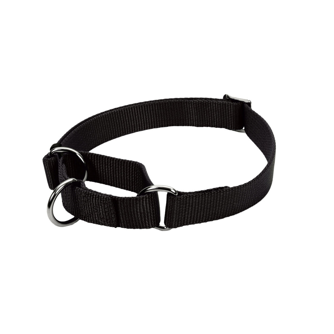 "Coastal No Slip Martingale Adjustable Collar - 20"", Black"