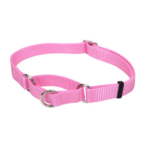 "Coastal No Slip Martingale Adjustable Collar - 24"", Pink"