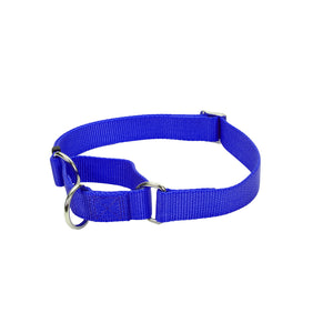 "Coastal No Slip Martingale Adjustable Collar - 20"", Blue"