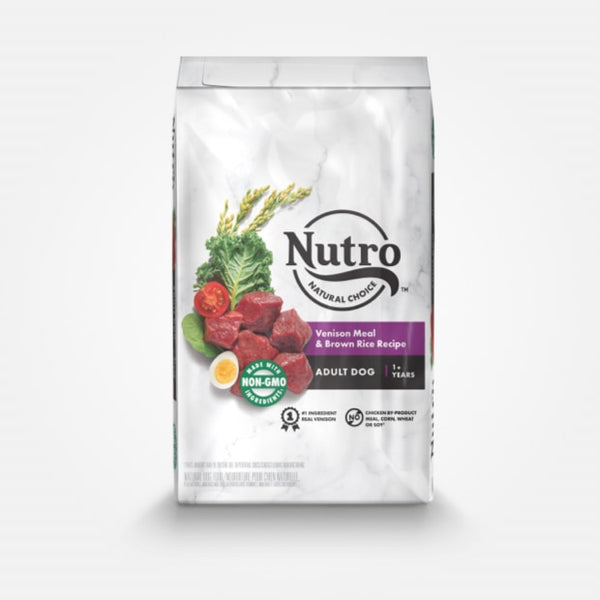 Nutro Natural Choice Adult Venison Meal & Brown Rice Recipe Dry Dog Food