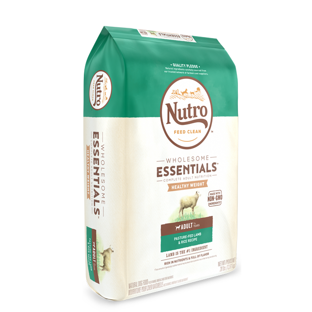 Nutro Wholesome Essentials Healthy Weight Lamb & Rice Dry Dog Food