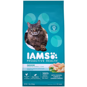 Iams Indoor Hairball Weight Control Dry Cat Food