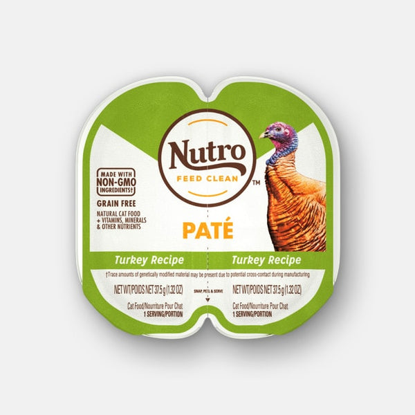 Nutro Perfect Portions Pate Turkey Recipe Wet Cat Food