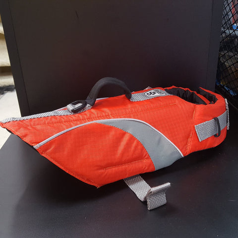 RCPP Canine Life Jacket Orange