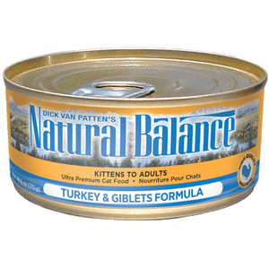 Natural Balance Turkey & Giblets Wet Cat Food