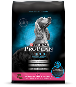 Pro Plan Focus Adult Sensitive Skin & Stomach Dry Dog Food