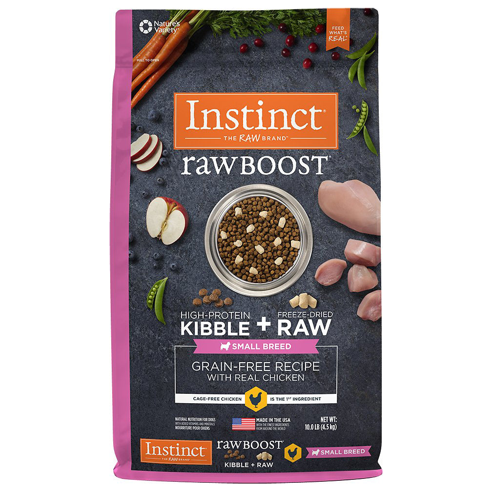 Nature's Variety Instinct Raw Boost Small Breed Chicken Dry Dog Food