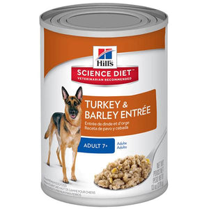 Science Diet 12 pk 13 oz. Mature Adult Gourmet Turkey Entree