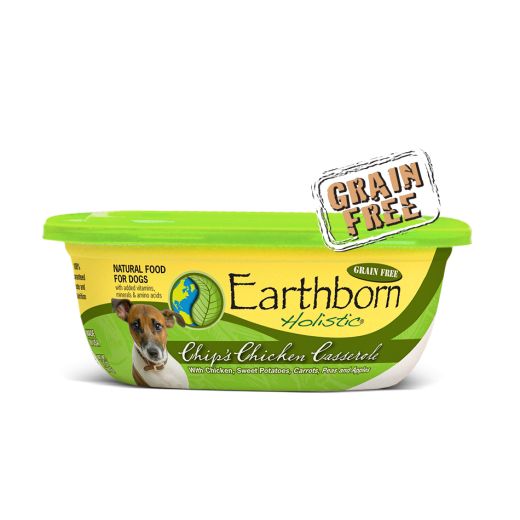 Earthborn Moist Grain Free Chip's Chicken Casserole Stew