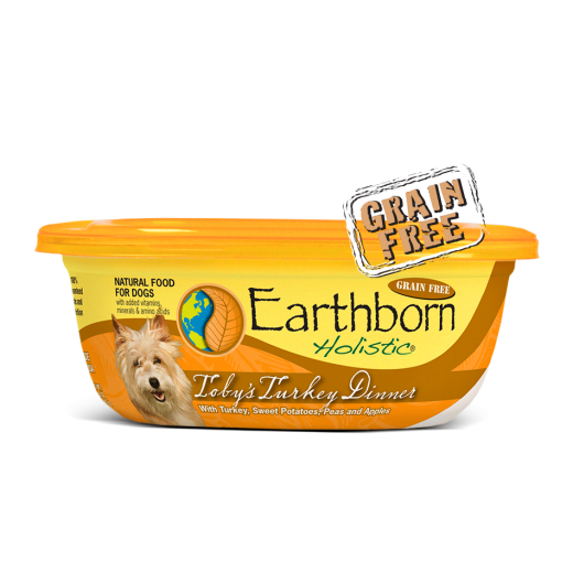 Earthborn Moist Grain Free Toby's Turkey Dinner in Gravy