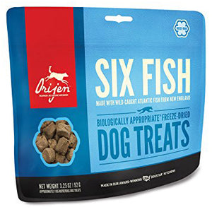 Orijen Freeze Dried Six Fish Treat