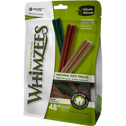Whimzees Stix 14.8 oz. Value Pack - X-Small (for dogs 5-15 lbs.)