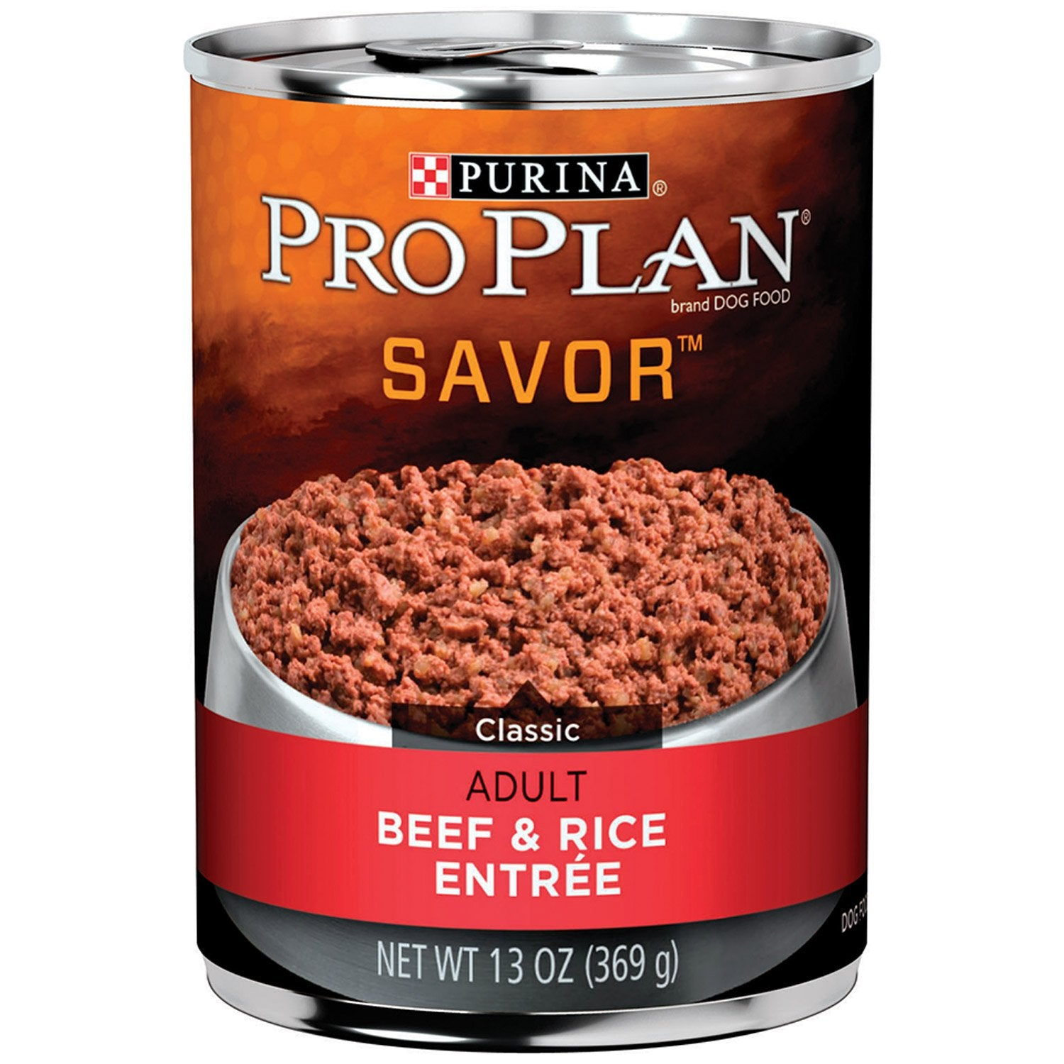 Pro Plan Savor Adult Beef & Rice Wet Dog Food